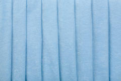 Blue Velvet Parallel Folds Background Royalty Free Stock Photography