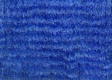 Blue Velvet Texture Royalty Free Stock Photography