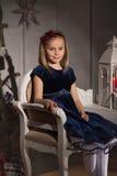 Blue Velvet Stock Photography