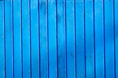 Blue vertical boards. Blue vertical board background wall Royalty Free Stock Photos