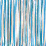 Blue Vertical Striped Pattern. Vector Stock Photo