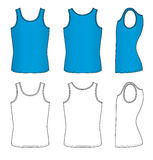 Blue vest Royalty Free Stock Images