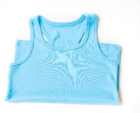 Blue vest Royalty Free Stock Photo