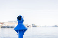 Blue viewpoint Royalty Free Stock Image