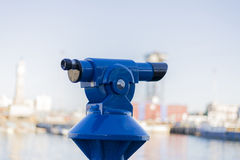 Blue viewpoint Stock Photography