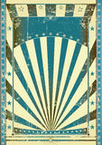 Blue vintage Royalty Free Stock Images