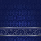 Blue Vintage Background Stock Photography