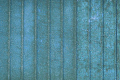 Blue vintage background - rusted metall texture striped Royalty Free Stock Images