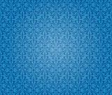 Blue vintage background wallpaper Stock Image