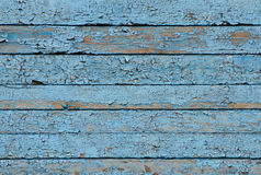 Blue vintage board. Horizontally arranged. Texture. Background Stock Images