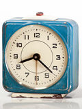 Blue Vintage Clock Royalty Free Stock Images