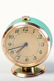 Blue Vintage Clock. Made in URSS Royalty Free Stock Photo