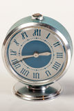 Blue Vintage Clock Royalty Free Stock Photography