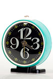 Blue Vintage Clock Stock Image