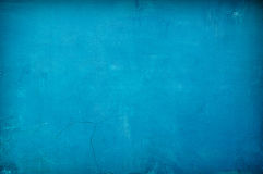 Blue vintage concrete background Royalty Free Stock Image