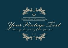 Blue vintage dotted background pattern Royalty Free Stock Images