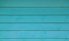 Blue vintage grunge painted wooden planks panel Royalty Free Stock Photography