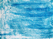 Blue vintage paper with stripe Royalty Free Stock Image