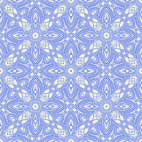Blue vintage pattern Royalty Free Stock Images