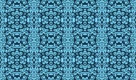 Blue vintage pattern Stock Photos