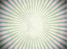 Blue vintage rays Royalty Free Stock Image