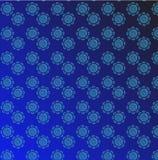 Blue vintage seamless wallpaper Stock Images