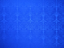Blue vintage style wallpaper Stock Photography