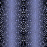 Blue vintage wallpaper seamless pattern Royalty Free Stock Photo