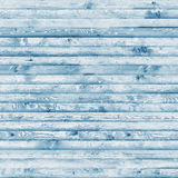 Blue vintage wood texture Stock Photography