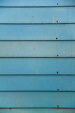 Blue Vintage Wood Wall Royalty Free Stock Photography