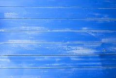 Blue Vintage Wooden Background, Copy Space Stock Image