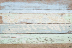Blue vintage wooden texture background Stock Photography