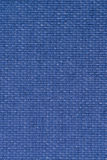 Blue vinyl texture. Embossed vinyl texture closeup texture background Stock Photos