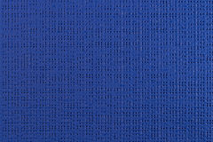 Blue vinyl texture. Embossed vinyl texture closeup texture background Royalty Free Stock Photography