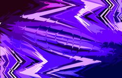 Blue and violet background. Spirally twisted middle. Royalty Free Stock Images