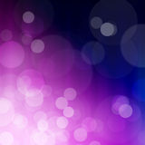 Bokeh abstract background. Blue violet bokeh abstract light background Stock Photography
