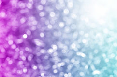 Blue violet bokeh abstract light. Stock Images