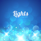 Blue Violet Bokeh Abstract Light Background Royalty Free Stock Photos