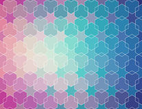 Blue violet gradient pattern.  vector  background Stock Photography