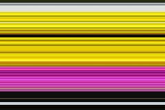 Lines texture in red, violet, yellow, dark background, design Stock Photography