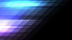 Blue violet tech minimal geometric abstract motion background