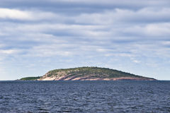 Blue Virgin Island, Sweden. The Blue Virgin island in the Isthmus between Swedens east coast and the Island Oeland. The Blue Virgin today is a national park and royalty free stock photography