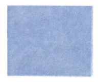 Blue viscose kitchen  (tissue) Royalty Free Stock Images