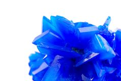 Blue vitriol Stock Images
