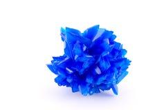 Blue vitriol. One blue vitriol isolated on white background stock photo