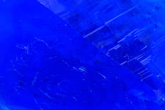 Blue vitriol mineral Stock Image