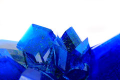Blue vitriol mineral Stock Photo