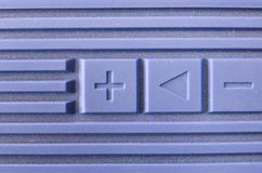 Blue Volume Stock Photo