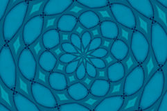 Blue vortex Stock Photo