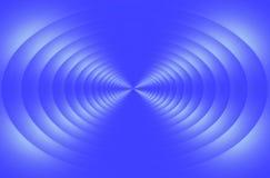Blue vortex Stock Image